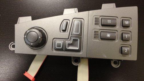 Джойстик управления сидением BMW 7 E65/E66