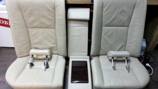 Mercedes W221 сидения задние - электрические