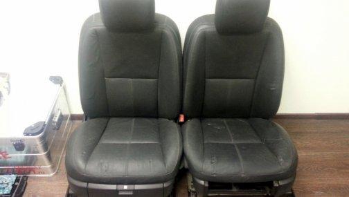 Mercedes W221 сидения передние