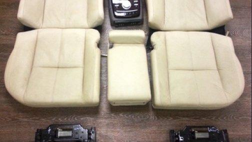 Mercedes W221 сидения задние максимальная комплектация