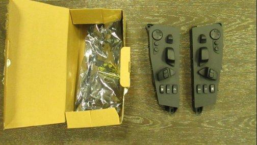 Блок кнопок управления сидением BMW X5 E70