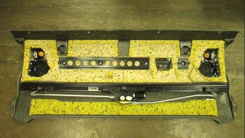 Задняя полка с электрошторкой BMW 7 F01