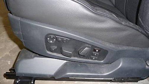 BMW 5 Е60 - передние сидения full option